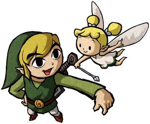Link et une fée