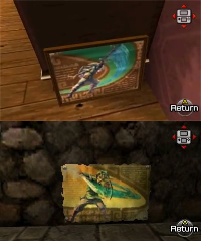 Anecdote du jeu Skyward Sword