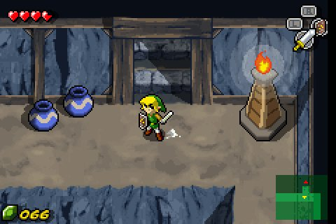 Anecdote du jeu The Wind Waker  - The Wind Waker sur GBA