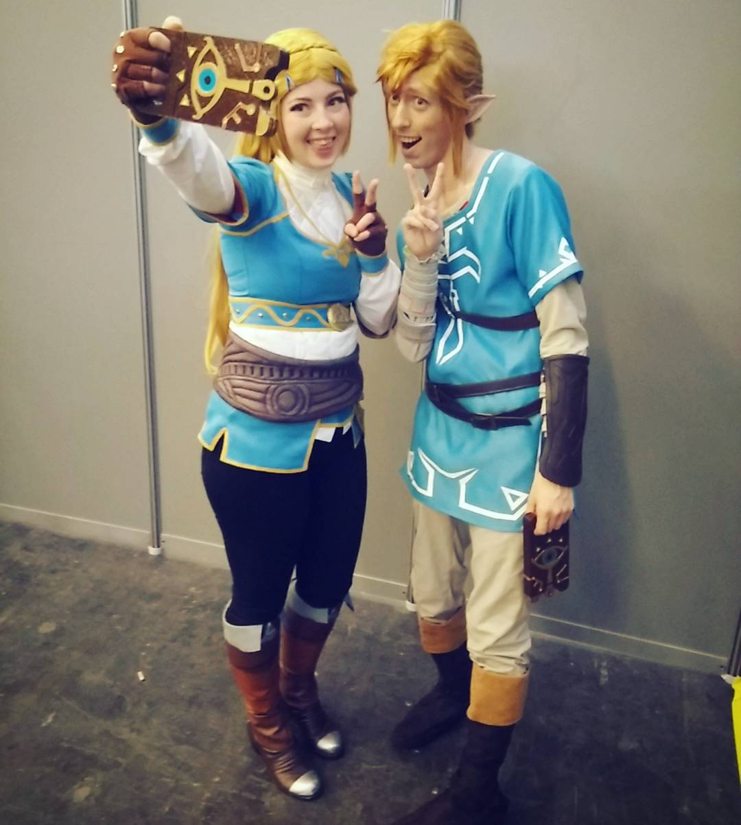 breath the Link wild cosplay of