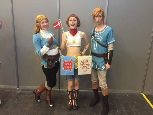 L'équipe danoise de cosplay finaliste de l'ECG