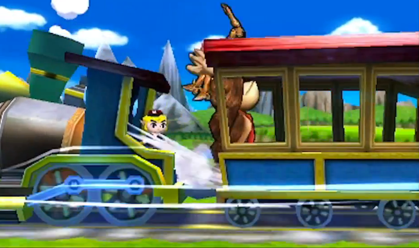 Super Smash Bros Locomotive des Dieux