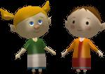Illustration de Agnès et Johanna