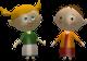 Agnès et Johanna