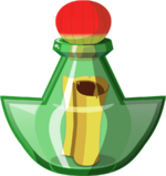Illustration de Bouteille de Tingle