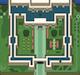 Château d'Hyrule dans A Link to the Past