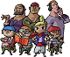 Equipage de Tetra dans The Wind Waker