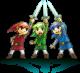 Link dans Tri Force Heroes