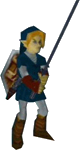 Link dans Ocarina of Time