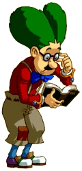 Illustration de Mr. Write / Dr. Left
