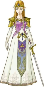 Illustration de Princesse Zelda