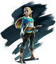 Princesse Zelda dans Breath of the Wild