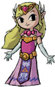 Princesse Zelda dans The Wind Waker