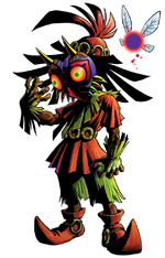 Illustration de Skull Kid