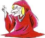 Illustration de Vieille Dame