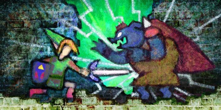 Scène Art de A Link Between Worlds