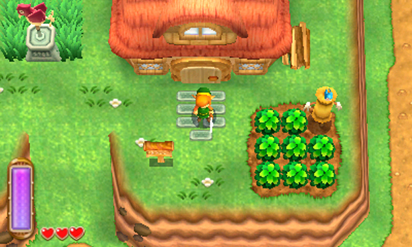 Screenshots de la boutique d'A Link Between Worlds