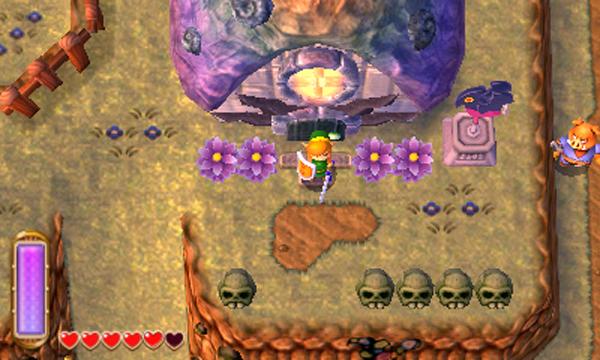 Screenshots de A Link Between Worlds