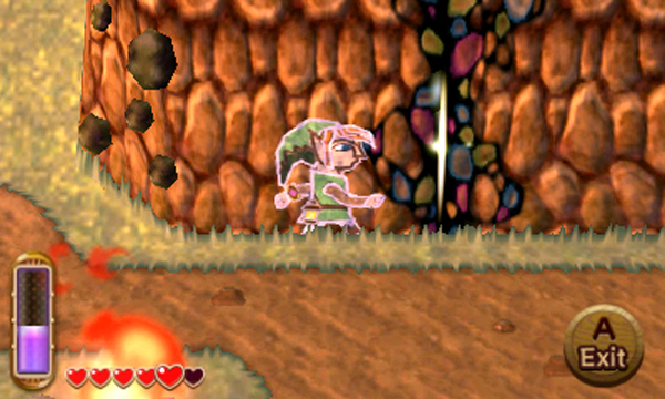 Screenshot de A Link Between Worlds