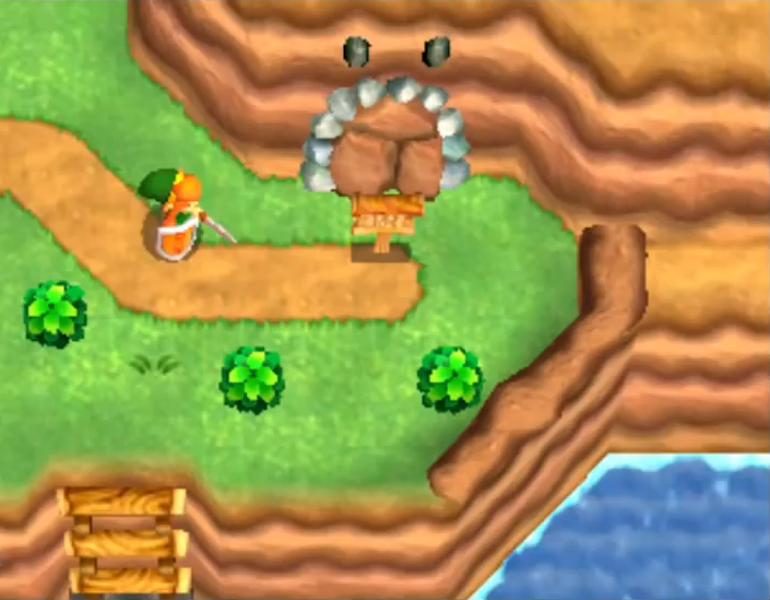 Grotte A Link Between Worlds