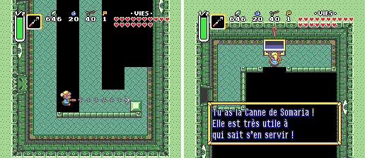 Screenshot d'ALTTP