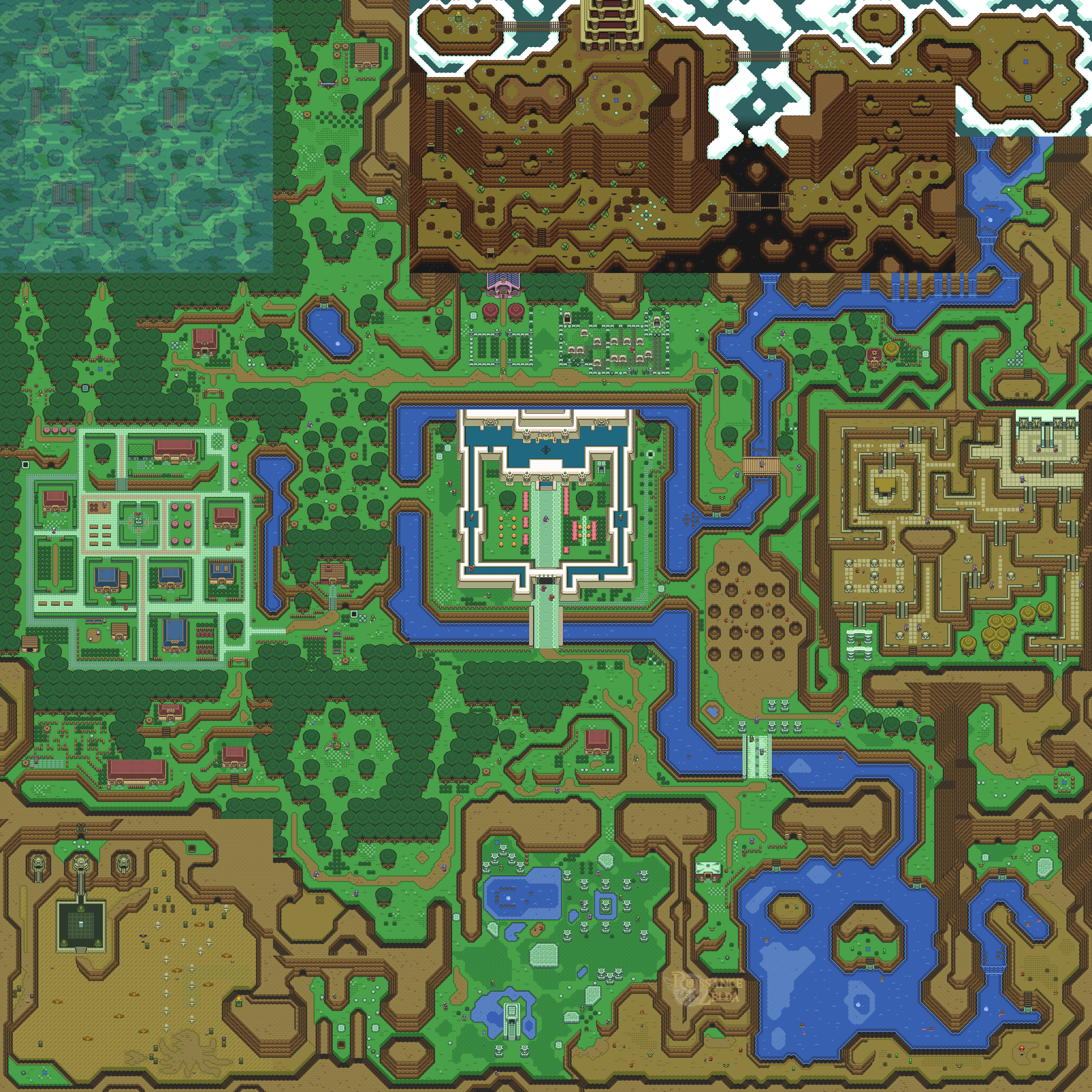 A link to the past ( SNES )  1
