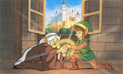 Test de Zelda II : The Adventure of Link. 002