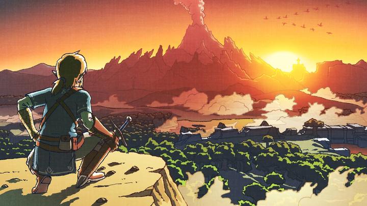 Artwork hommage au premier Zelda, célébrant l'année 2017 (Artwork - Illustrations - Breath of the Wild)