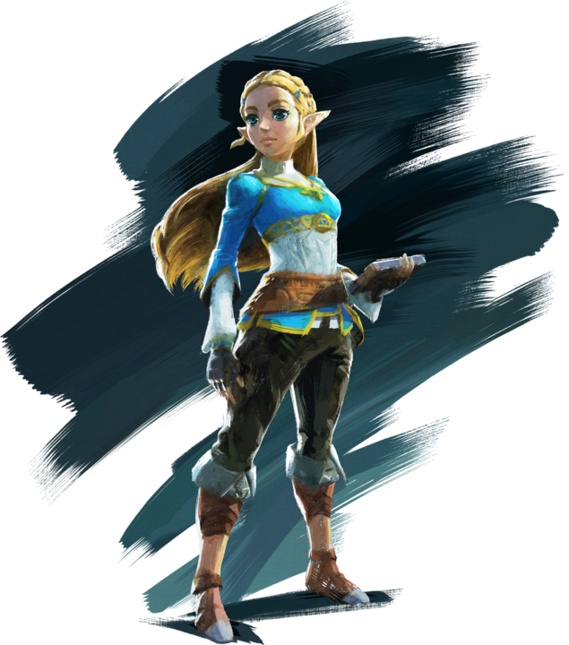 La princesse Zelda (Artwork - Personnages - Breath of the Wild)