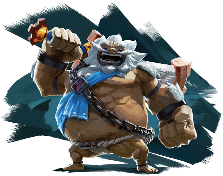 Daruk (Artwork - Personnages - Breath of the Wild)