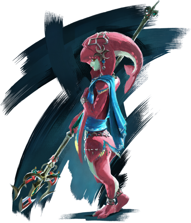 Mipha (Artwork - Personnages - Breath of the Wild)