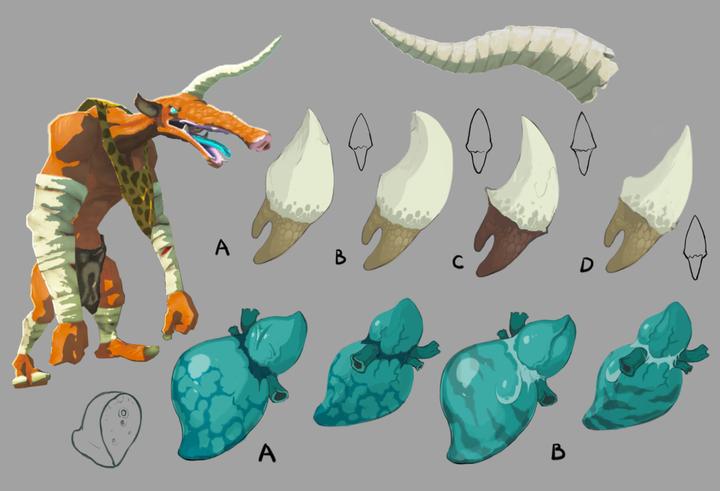 Concept Art de Moblin (Artwork - Concept Arts - Breath of the Wild)