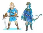 Concept Art de Link