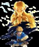 Link et Zelda