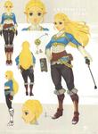 Concept Art de la Princesse Zelda