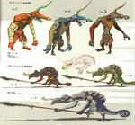 Concept Art de Moblin et de Lizalfos