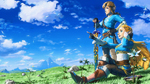Artwork célébrant le premier anniversaire de Breath of the Wild
