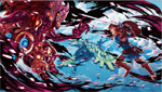 Link contre l'Ombre de Vent de Ganon