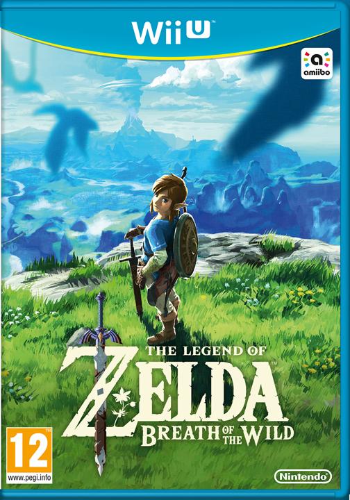 Boîtier Français de Breath of the Wild, version Wii U (Image diverse - Boîtiers - Breath of the Wild)