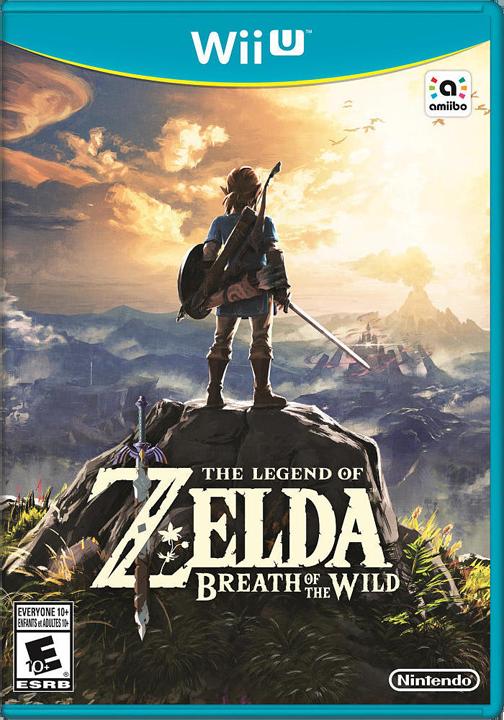 Boîtier Américain de Breath of the Wild, version Wii U (Image diverse - Boîtiers - Breath of the Wild)