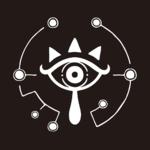 Logo en forme d'œil Sheikah