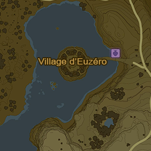 Carte de la localisation des boutiques de Kilton