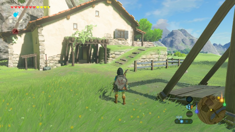 Anecdotes de breath of the wild acheter une maison et for Achat maison zelda