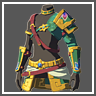 Costume de Breath of the Wild ㅡ Épaulière des sablons