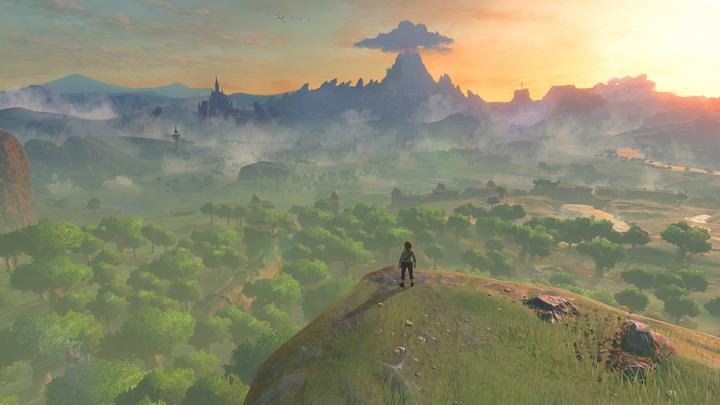 Link sortant du sanctuaire de la renaissance (Screenshot - Screenshots de l'E3 2016- Breath of the Wild)