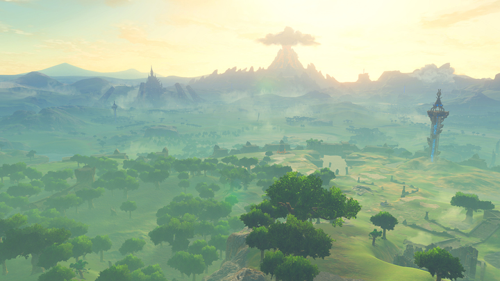 L'est du Plateau du Prélude (Screenshot - Screenshots de l'E3 2016- Breath of the Wild)