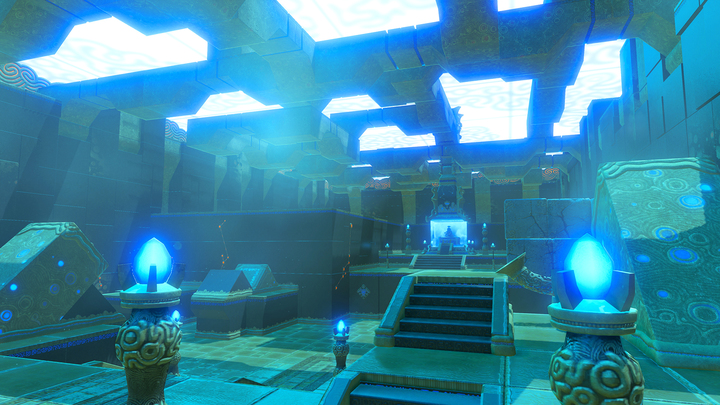 Le sanctuaire de Ja'Bashif (Screenshot - Screenshots de l'E3 2016- Breath of the Wild)