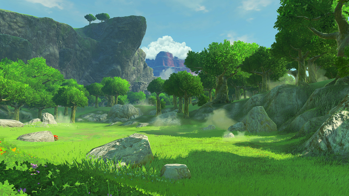 Le Bois des Esprits de jour (Screenshot - Screenshots de l'E3 2016- Breath of the Wild)