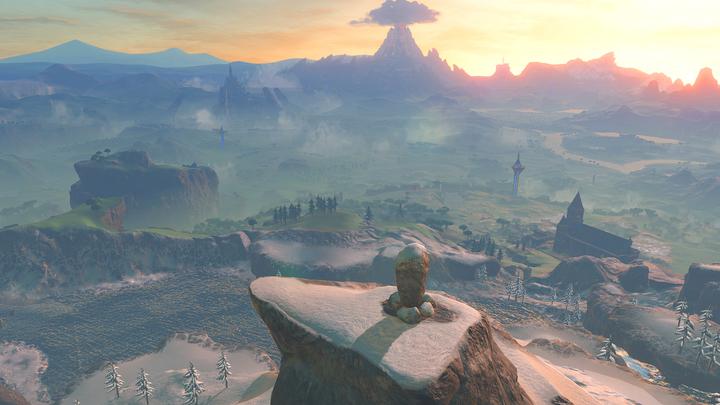 Le sommet du Mont Hylia (Screenshot - Screenshots de l'E3 2016- Breath of the Wild)
