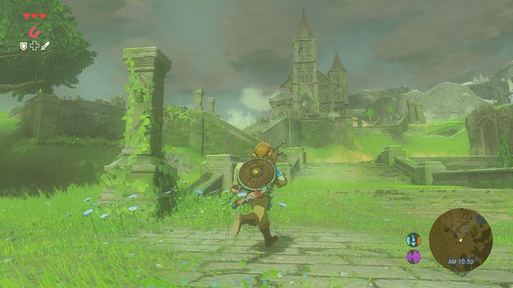 Le temps se couvre près du Temple du Temps (Screenshot - Screenshots de l'E3 2016- Breath of the Wild)